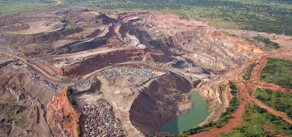 Kobaltový důl v Zambii, ilustrační foto