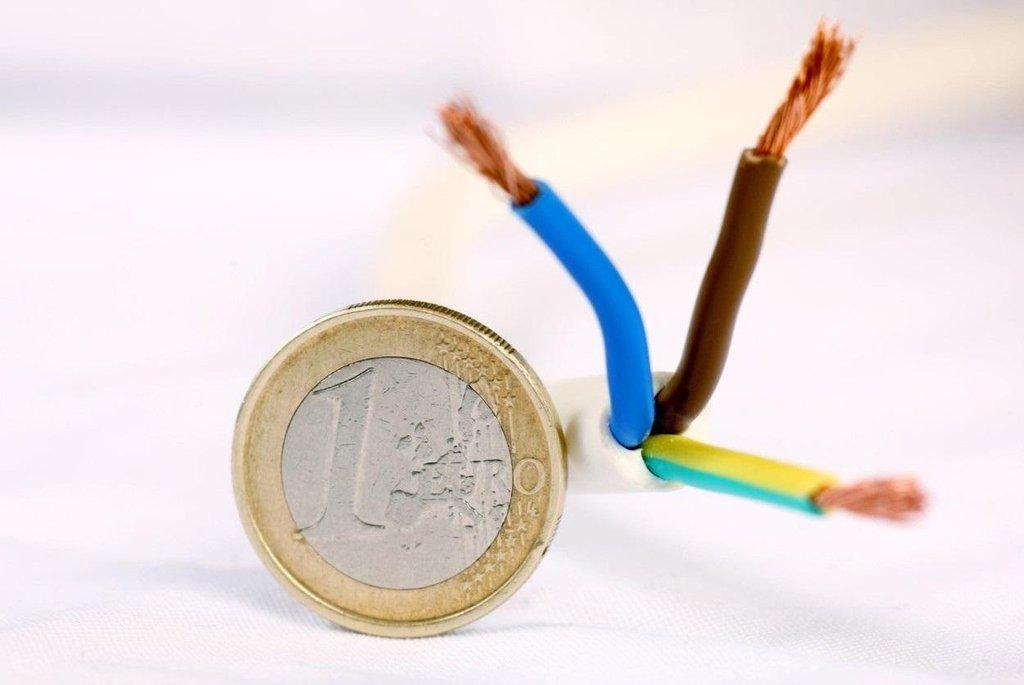 Cena elektřiny, ilustrační foto