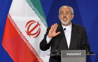 Íránský ministr zahraničí Mohammad Džavád Zaríf