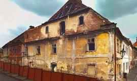 Památkově chráněná budova v Žatci, která se má stát sídlem muzea pivovarnictví