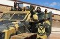 Jednotky Chalífy Haftara na jižním předměstí Tripolisu, ilustrační foto