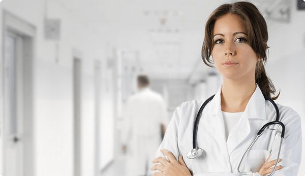 lékařka, nemocnice