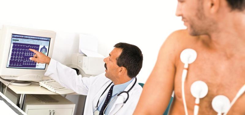*lékař, pacient, kardiologie