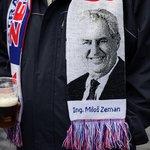 Fanoušek Miloše Zemana.