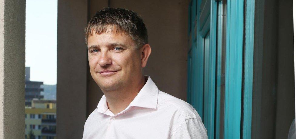 Ladislav Čapek ze společnosti Cleerio