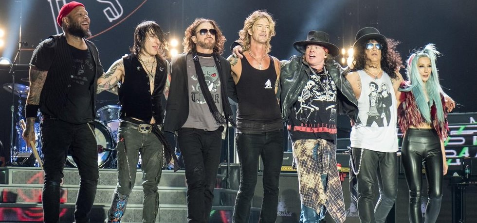 Rocková skupina Guns N´ Roses