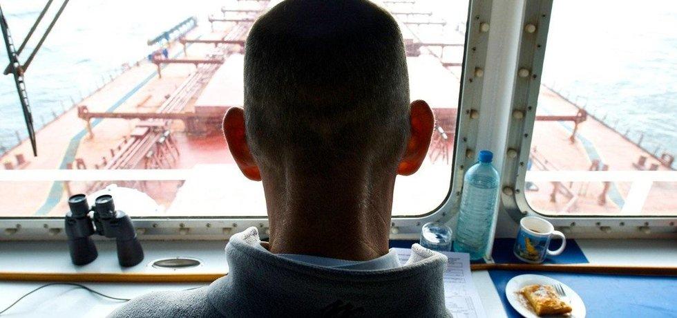 Kapitán lodi na sypký náklad, ilustrační foto