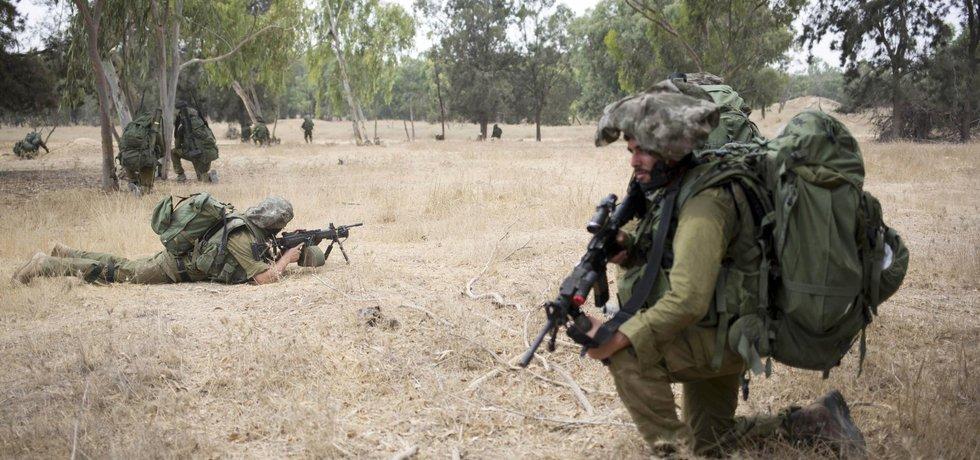 Izraelská armáda - ilustrační foto