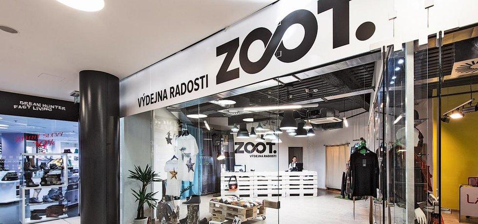 Výdejna e-shopu Zoot