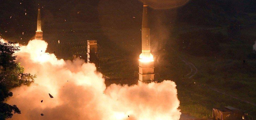 Raketa KLDR, ilustrační foto
