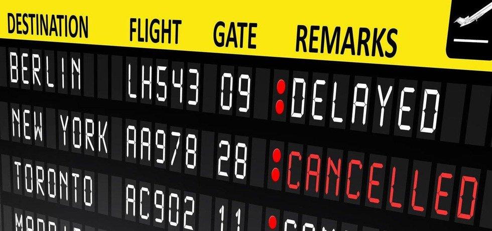 Zpožděné lety, ilustrační foto