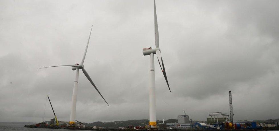 Turbíny, ilustrační foto