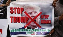 Trump svým uznáním Jeruzaléma za hlavní město Izraele vyvolal bouři nevole v arabském světě, včetně Bangladéše.