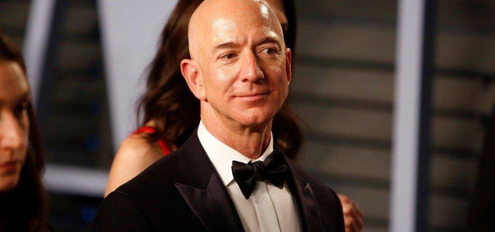 Nejbohatší člověk na světě Jeff Bezos