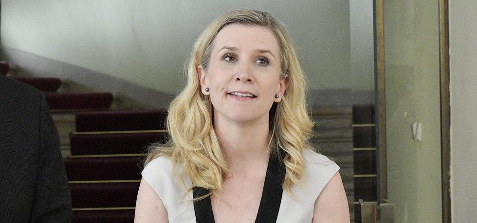 Ministryně Kateřina Valachová