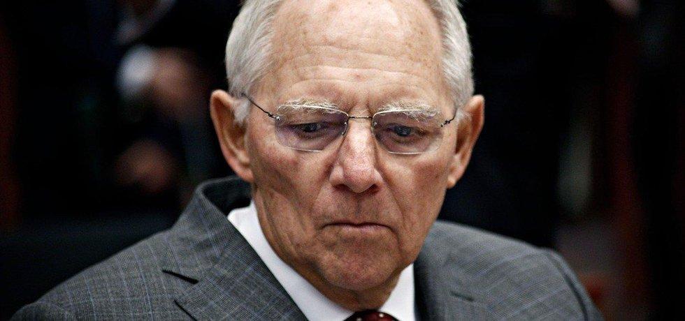 Ministr financí Wolfgang Schäuble (CDU)