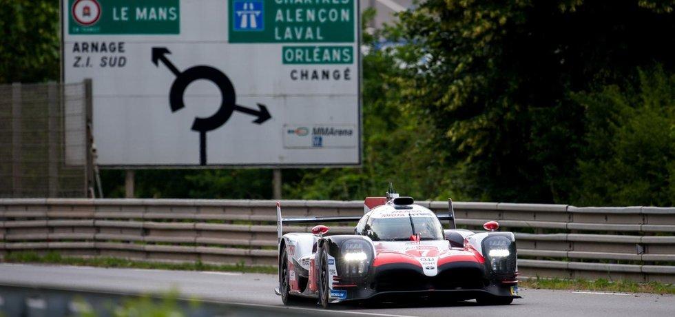 Brněnská turbodmychadla pohání v Le Mans i tento hybridní prototyp Toyota TS050 LMP1.