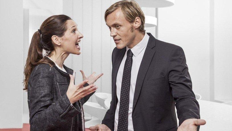 Výměna argumentů na pracovišti, ilustrační foto