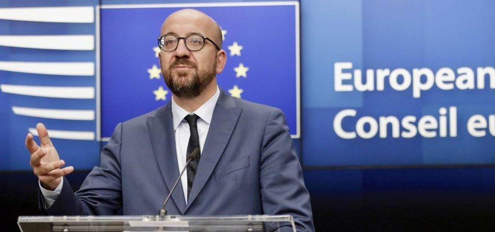Nový šéf Evropské rady Charles Michel