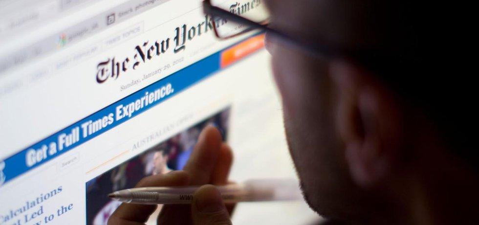 Zpravodajský server deníku New York Times