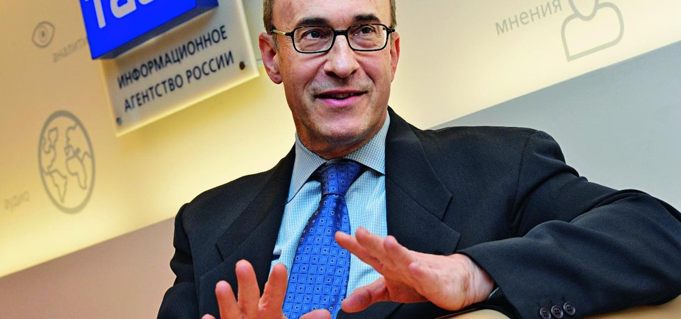 Profesor z Harvardu Kenneth Rogoff