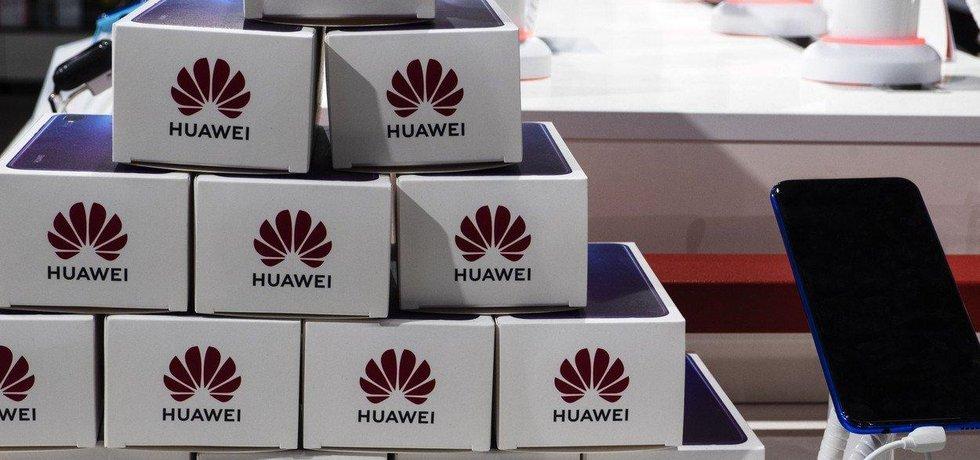Mobilní telefony Huawei, ilustrační foto