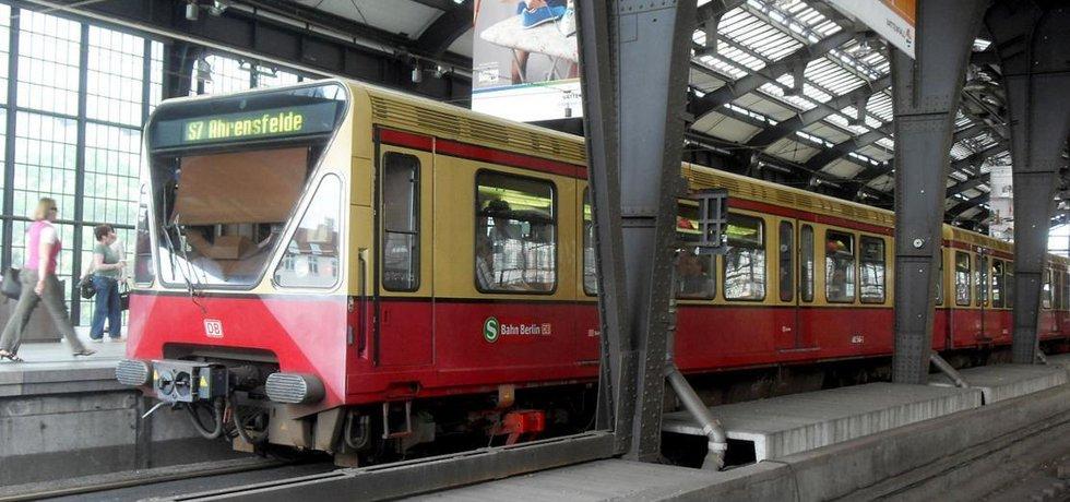 Berlínská městská dráha S-Bahn, ilustrační foto