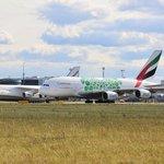 Airbus A380 a Antonov An - 124 Ruslan