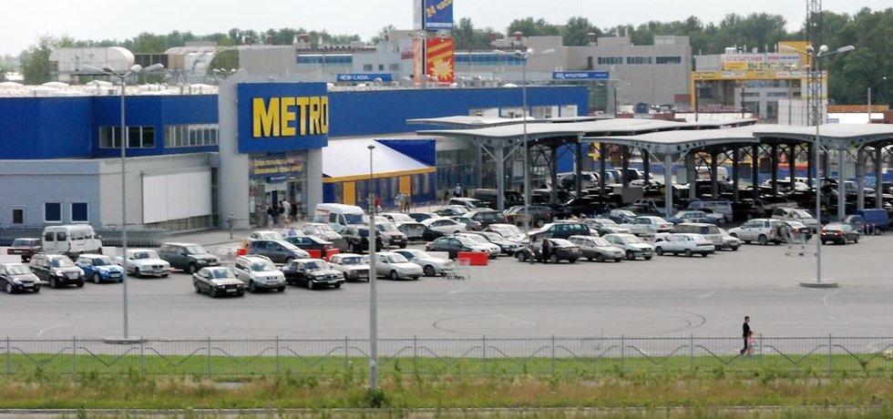 Pobočka velkoobchodu Metro (mateřské společnosti Makro) v Petrohradu