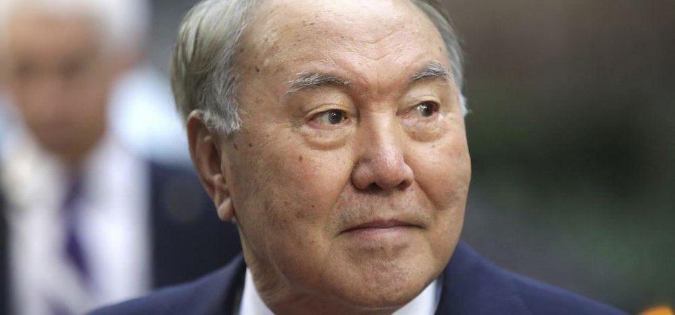 Kazašský prezident Nursultan Nazarbajev