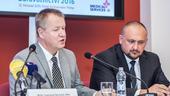 MUDr.Svatopluk Němeček, MBA, a Ing. Jiří Horecký, Ph.D., MBA, na konferenci Zdravotnictví 2017