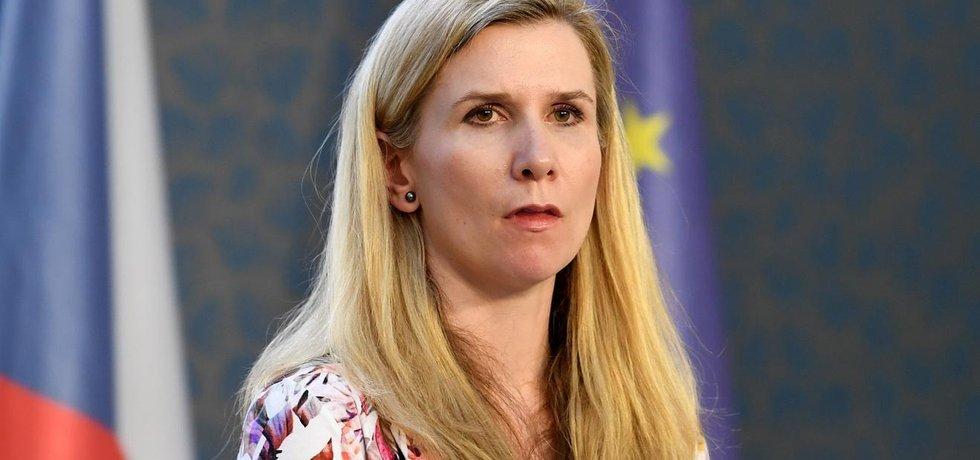 Odstupující ministryně školství Kateřina Valachová