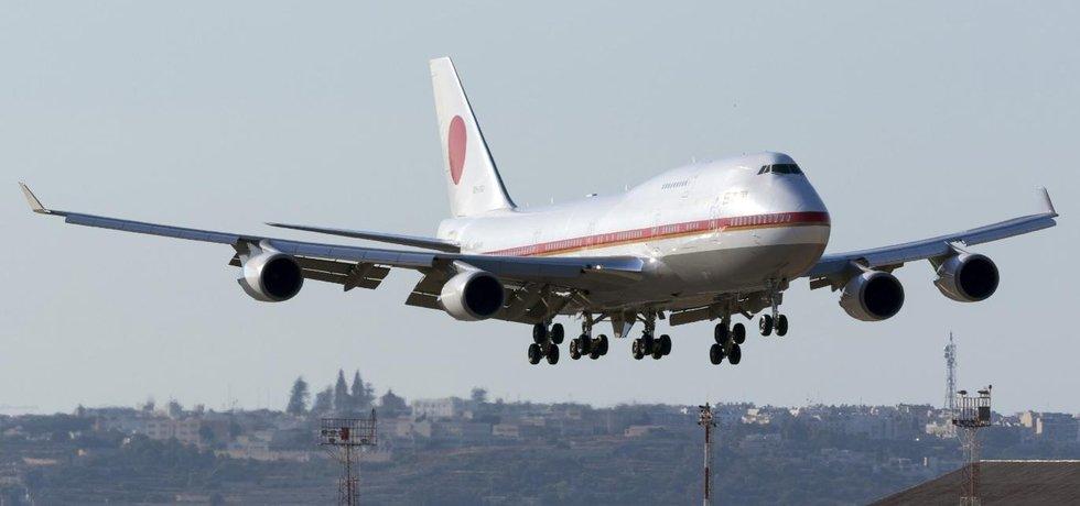 Japonský vládní Boeing 747