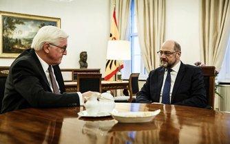 Frank-Walter Steinmeier a Martin Schulz