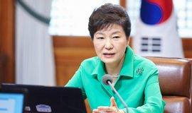 Jihokorejská exprezidentka Pak Kun-hje