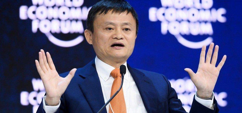 Nejbohatší Číňan Jack Ma, zakladatel internetového prodejce Alibaba