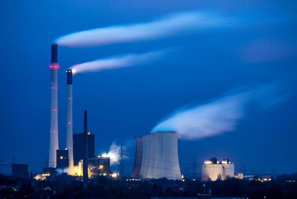 Uhelná elektrárna Scholven v německém Gelsenkirchenu.