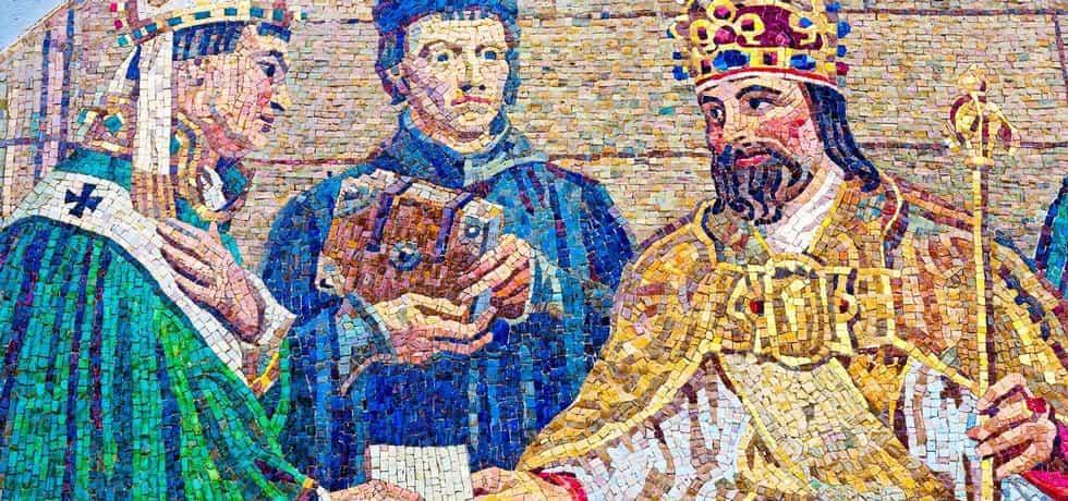 Mozaika Karel IV.