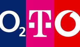 O2, T-Mobile a Vodafone