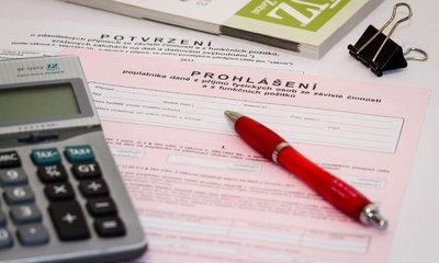 Potvrzení o zdanitelných příjmech
