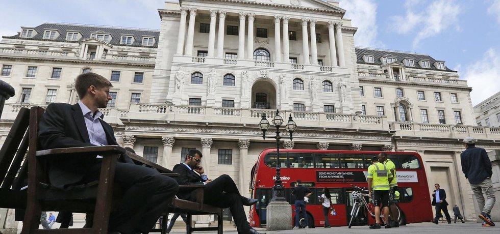 Budova Bank of England (Zdroj: ČTK)