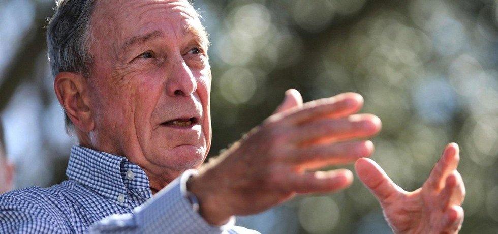 Mediální magnát a bývalý starosta New Yorku Michael Bloomberg
