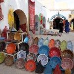 V nejkrásnější části Sahary se nachází městečko Douz.