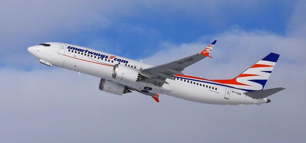 Boeing společnosti Smartwings, ilustrační foto