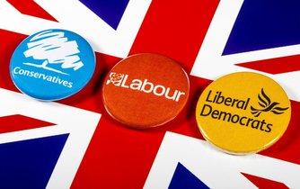 Předčasné volby ve Velké Británii - ilustrační foto
