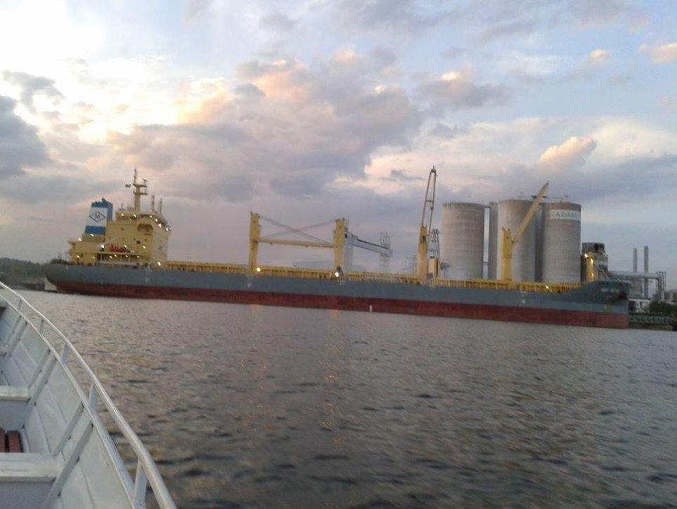 Loď Nina Marie, na které sloužil Jaroslav Hornof v roce 2013.
