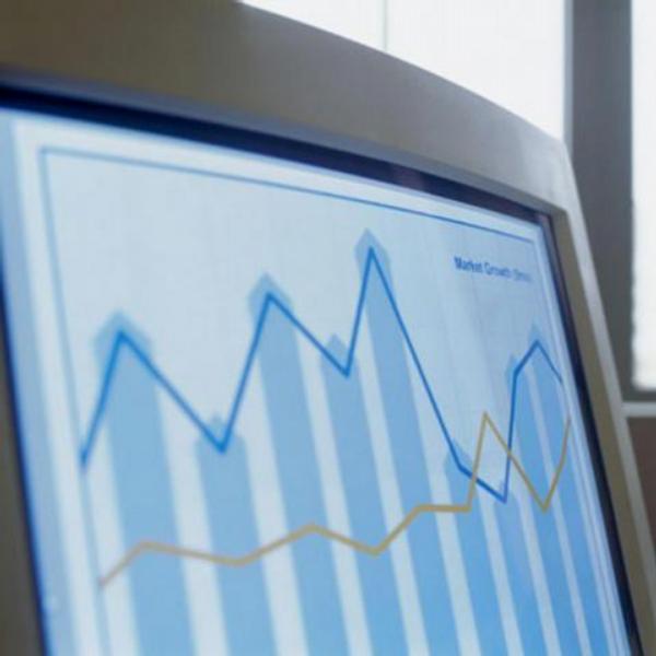 počítač, statistika, graf