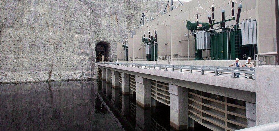Hydroelektrárna Eastmain 1A v provincii Québec.