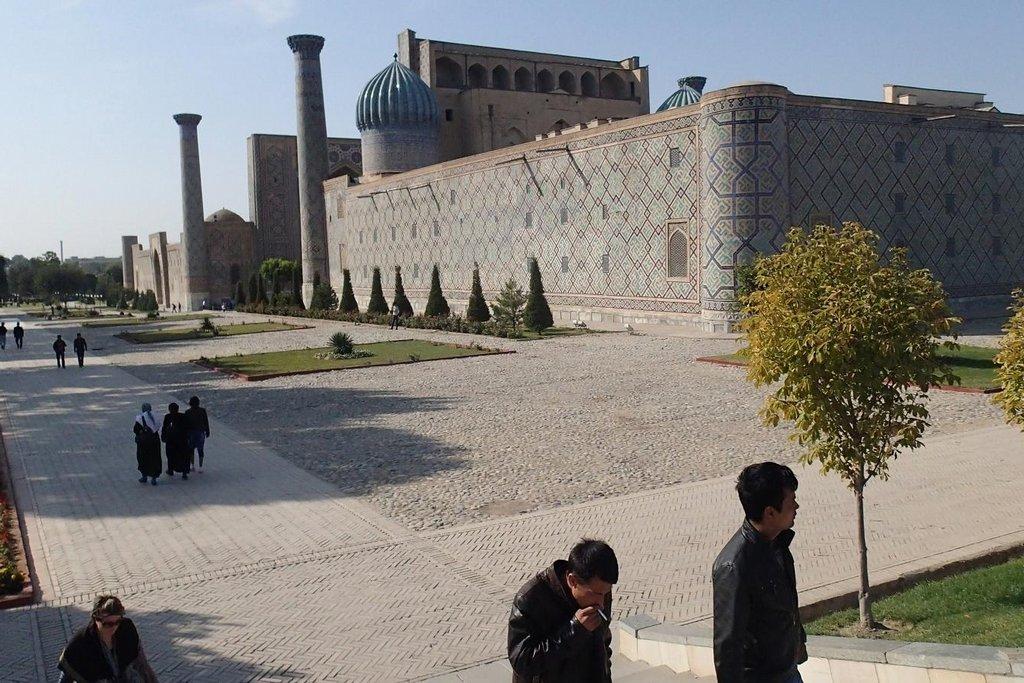 Samarkand, město zbudované legendárním nájezdníkem Timurem