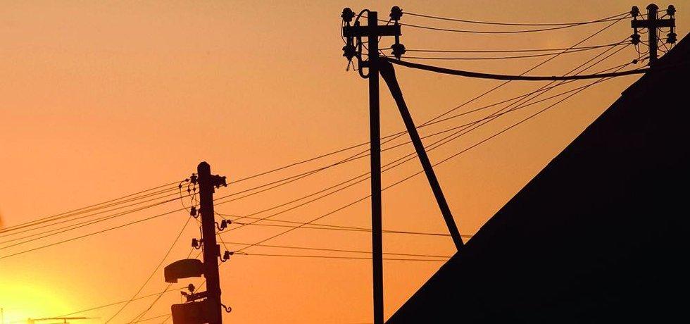 elektřina, ilustrační foto